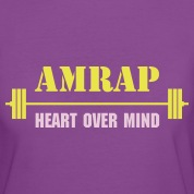 AMRAP-Crossfit-Bar-Women-s-T-Shirts